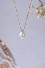 Theodora Luxury Pearl Pendant Necklace