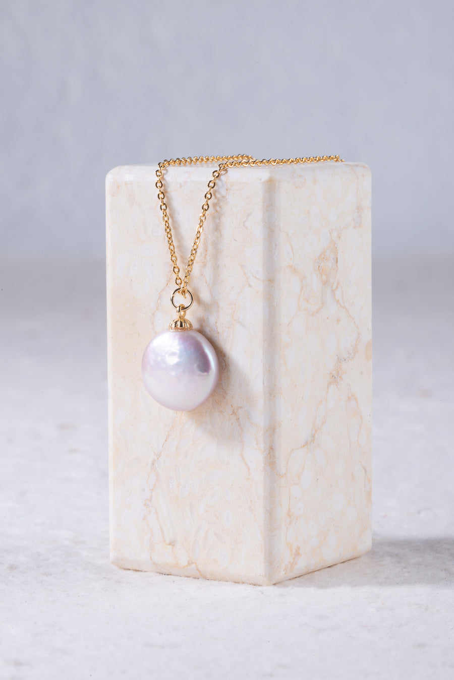 Coin Baroque Pearl Set