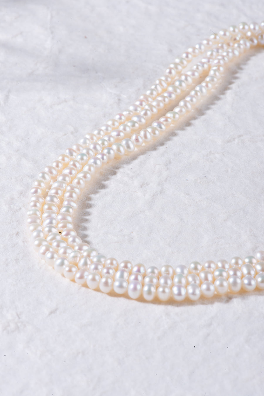 Multilayer Pearl beaded Necklace