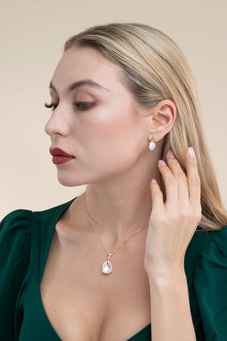 Petal Baroque Dorp Earrings