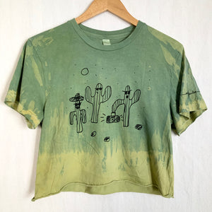 Cactus Jams Cropped T-shirt