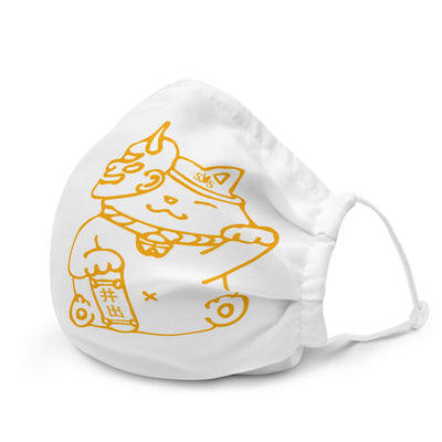 """Maneki-neko"" Premium Face Mask - Seasup Clothing"