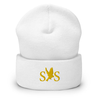 """Seattle Supreme"" Logo Embroidered Cuffed Beanie - Seasup Clothing"