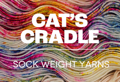 Cat's Cradle - Fingering Weight Sock Yarns