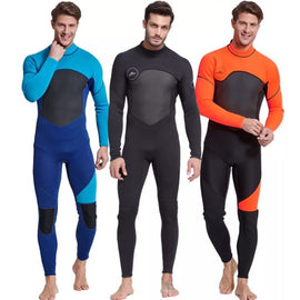 Men's Singlet Swimsuit Full-body Olympics One-piece Bodysuit Costume Full Long Sleeves