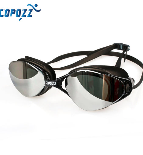 Waterproof  Silicone Anti-fog Uv  Adjustable Plating Glasses  Eyewear Professional Swimming Goggles