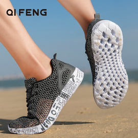 Outdoor Water River Tracing Sports Aqua Shoes Man Beach Walking Sneakers  MenBathingSuit.com