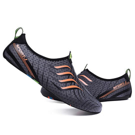 Lightweight Upstream Shoes Men's Sneakers Quick-Dry Aqua Shoes Unisex Summer Beach Water Shoes  MenBathingSuit.com