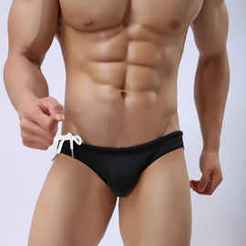 Low Waist Swim Briefs for Men U-type Swimsuit Sports