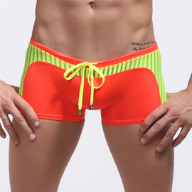 Mesh Swimwear Sexy Swimming Trunks