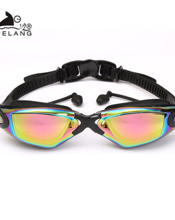 Silicone Swimming Goggles Colored Anti-fog Anti-uv Waterproof Adult Arena Swimming Glasses  MenBathingSuit.com