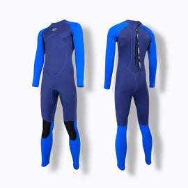 Men Fullbody Surfing Wet Suit  3mm Neoprene+shark Skin Diving Swimsuit