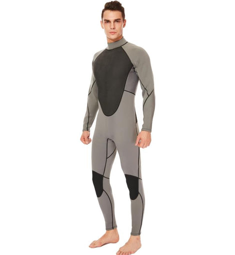 3mm Full Suits Winter Warmth Fullbody Surf Swim Jumpsuit For Snorkel menbathingsuit.com