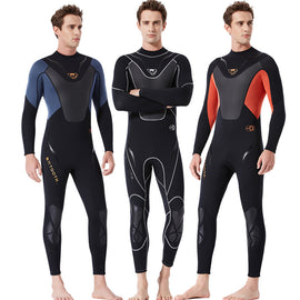 High-quality Scuba Fullbody Neoprene Wetsuit 3mm Snorkeling Spearfishing Equipment menbathingsuit.com