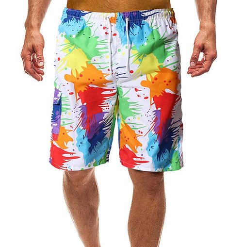 Quick Drying Surfing Shorts For Men Swim Shorts Swimwear Trunks For Beach
