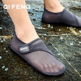 Water River Tracing Swim Shoes Outdoor Sports Aqua Shoes Man Canyoneering Beach Walking Sneakers  MenBathingSuit.com