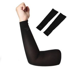 Arm Sleeves Warmers Safety Sleeve Sun UV Protection Sleeves Long Arm Cover Cooling Warmer for Running Golf Cycling Summer