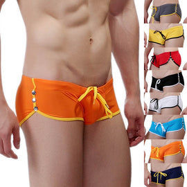 Men,s Swimwear Boxer Swim Shorts Trunks Swimsuits Pouch Briefs