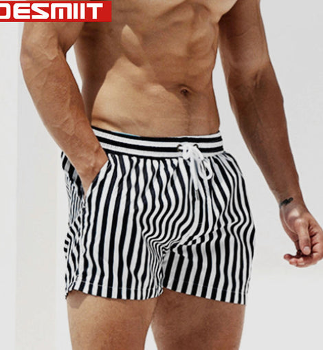 Quick Dry Swimsuit Swimming Shorts for Mens Swimsuit Beachwear Surfing Shorts Board