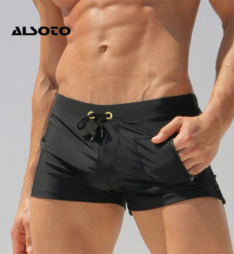 Swimming Shorts For Men & Boys Sexy Man Swimwear Swimming Trunks Beach Shorts