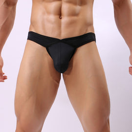 Transparent Colorful Soft Breathable Silk Briefs Swimwear for Men MenBathingSuit.com