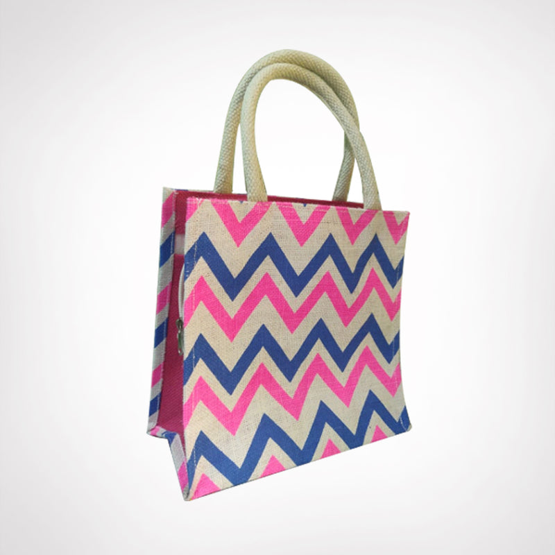 Jute Bags with zipper  (Bulk Only) - EcoLoom