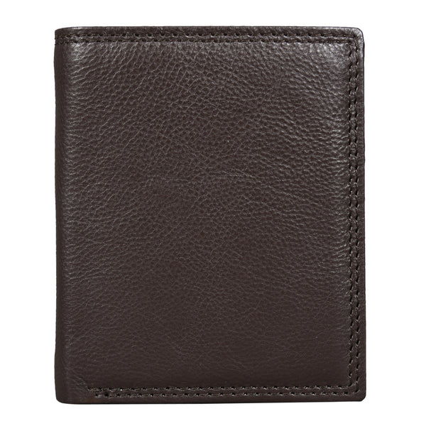 Brown Gloss Trifold Wallet (Bulk Only) - EcoLoom