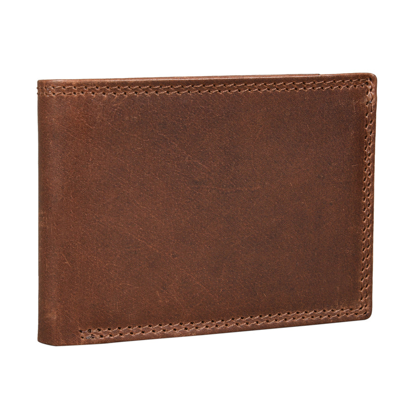 Brown Trifold Wallet (Bulk Only) - EcoLoom