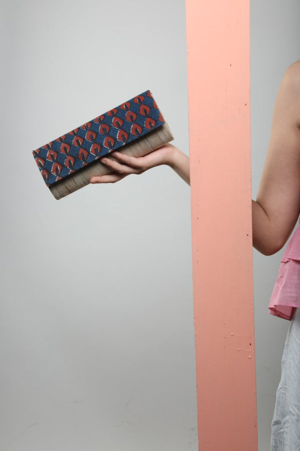 Upcycled Clutch Bags - [Ecoloom]