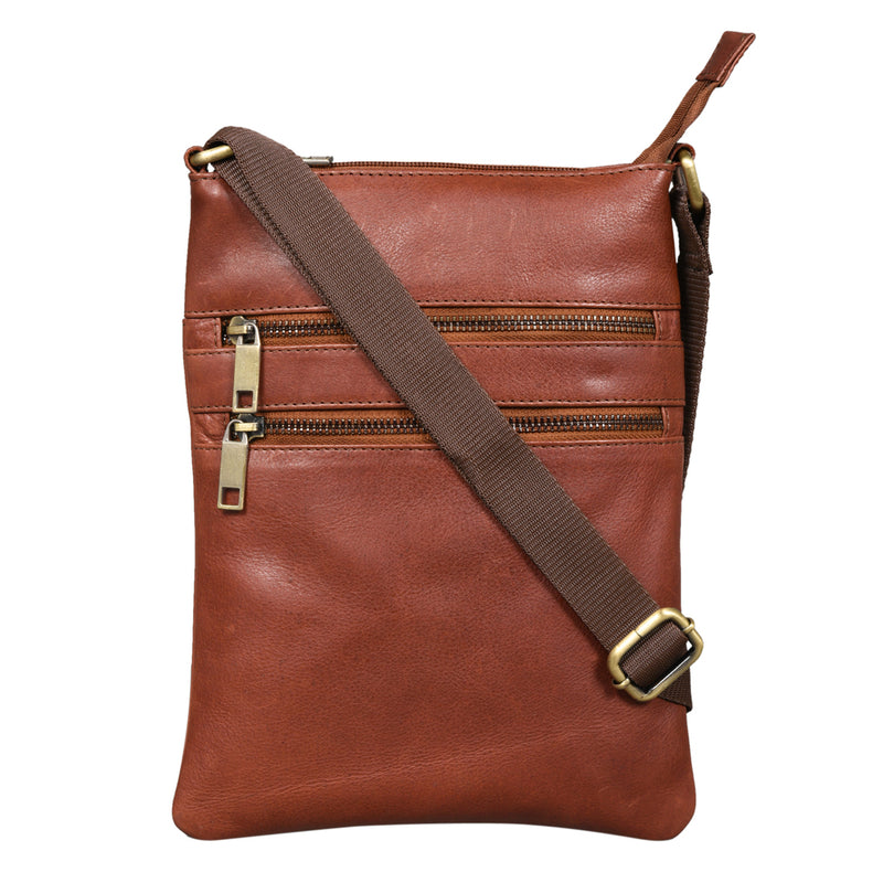Crossbody Bag, Tan  (Bulk Only) - [Ecoloom]