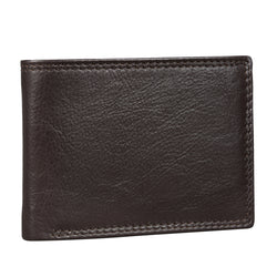 Gloss Brown Trifold Wallet (Bulk Only) - [Ecoloom]