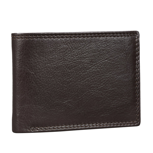 Gloss Brown Trifold Wallet (Bulk Only) - EcoLoom