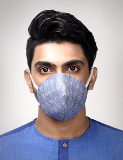 Cotton Face Mask - Pack of 5(Assorted) - [Ecoloom]