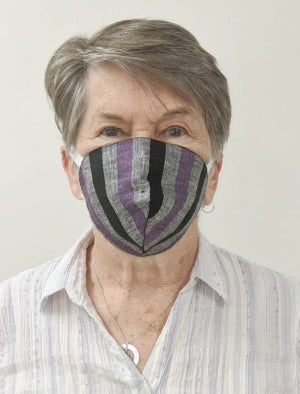 Linen Face Mask - Pack of 5(Assorted) - EcoLoom