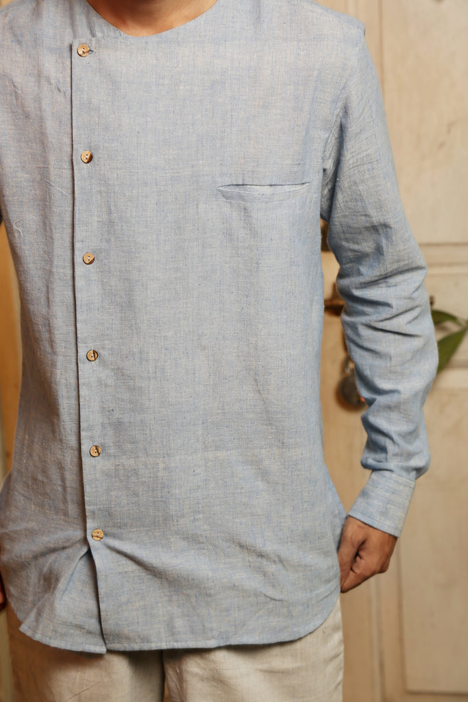 Sky Cotton Shirt - EcoLoom