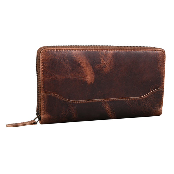 Zipped Bark Purse - EcoLoom