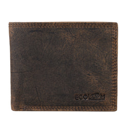 Dark Brown Hunter Wallet - [Ecoloom]