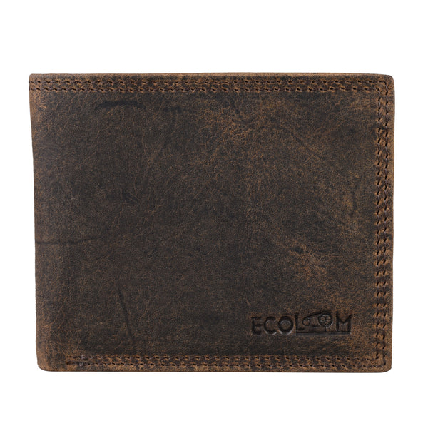 Dark Brown Hunter Wallet - EcoLoom