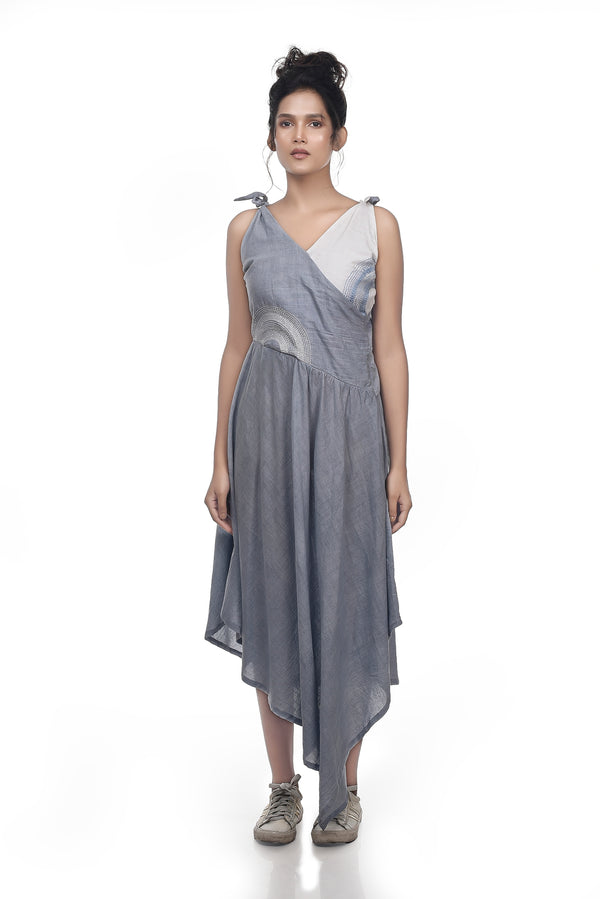 SeaHolly Sleeveless Dress - [Ecoloom]