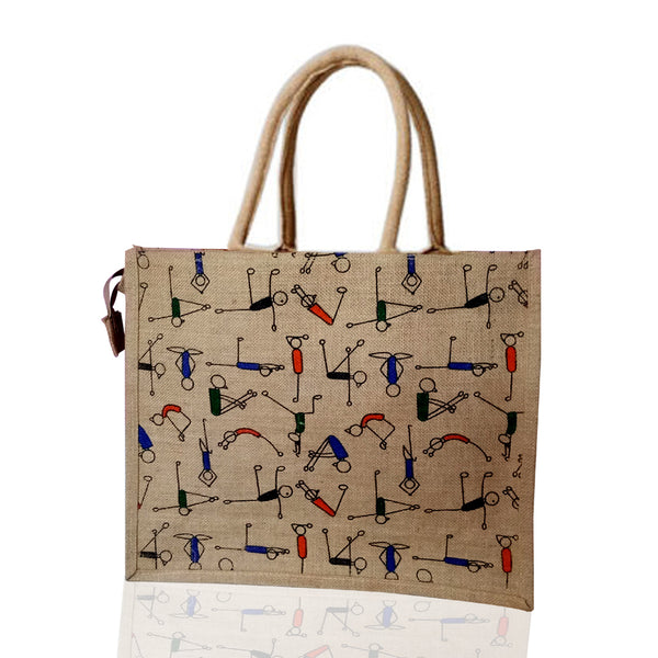 Jute Bag - Yoga Model  (Bulk Only) - EcoLoom