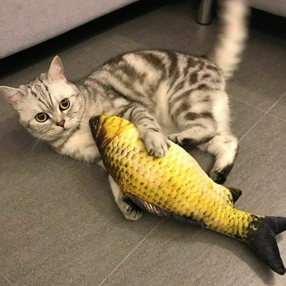 Fish-N-Nips - Catnip Filled Fish Toy