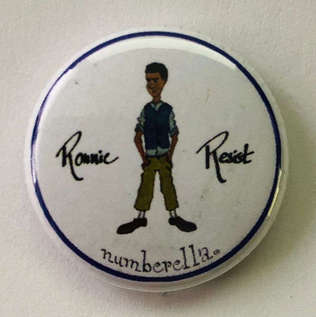 Badge - Ronnie Resist