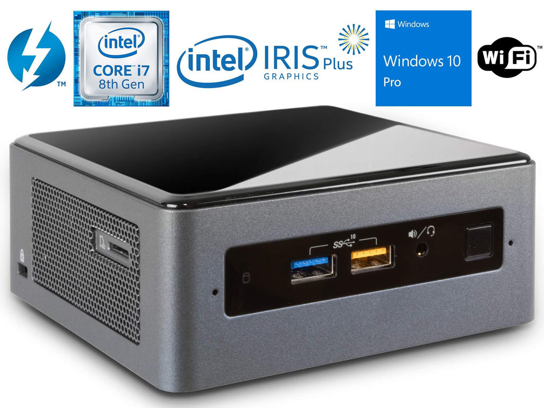 Intel NUC8i7BEH Mini PC/HTPC, Intel Core i7-8559U Up to 4.5GHz, 16GB