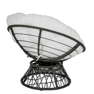 Papasan Chair, White