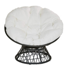 Load image into Gallery viewer, Papasan Chair, White