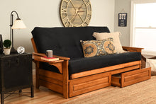 Load image into Gallery viewer, Futon, Full, Suede Black