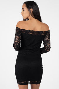 Lace, Full Length, High Waisted Pants In A Bodycon Fit
