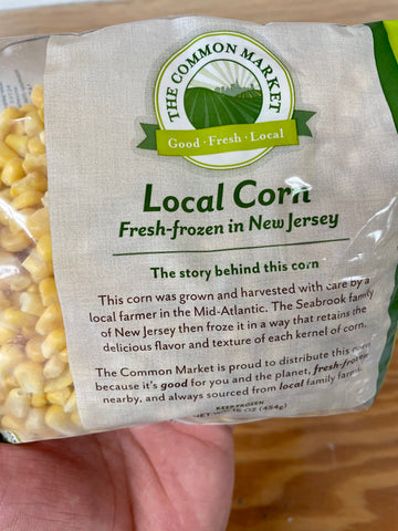 Frozen Corn - Local NJ (1lb Bag)