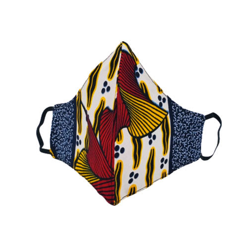 Ankara Face Coverings w/ Filter Pocket
