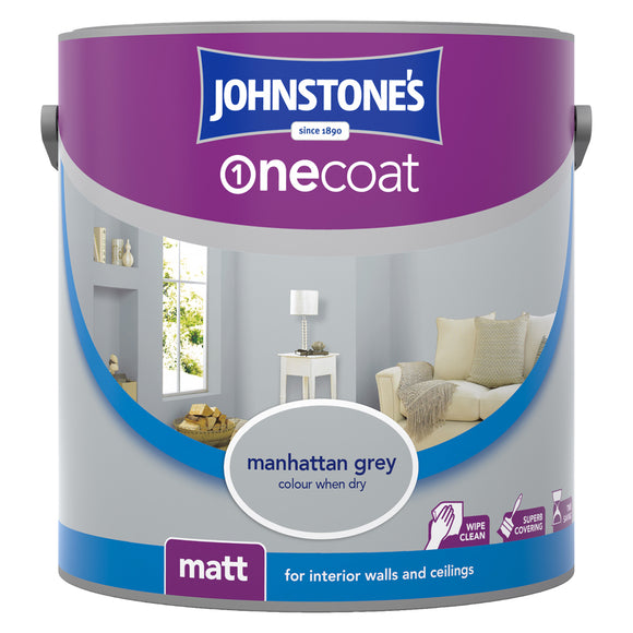 Johnstone's Onecoat Matt Paint Interior Walls and Ceilings